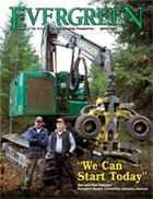 Cover of Spring 2004 Issue of Evergreen Magazine
